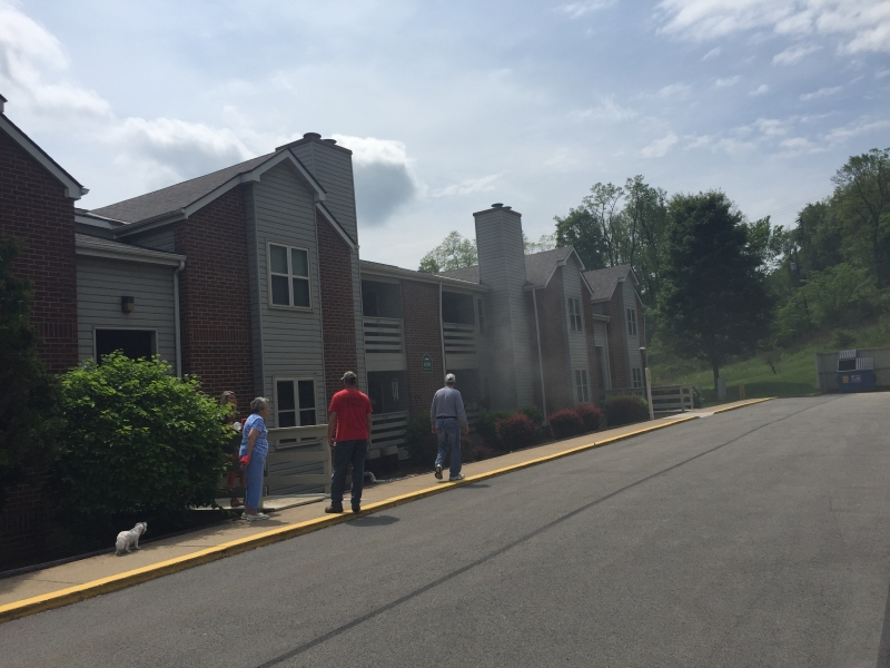 First Due Apartment Fire