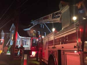 Quint 1 runs first alarm dwelling fire in Turtle Creek