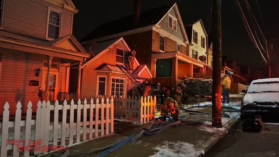 Quint assists on Pitcairn Dwelling Fire