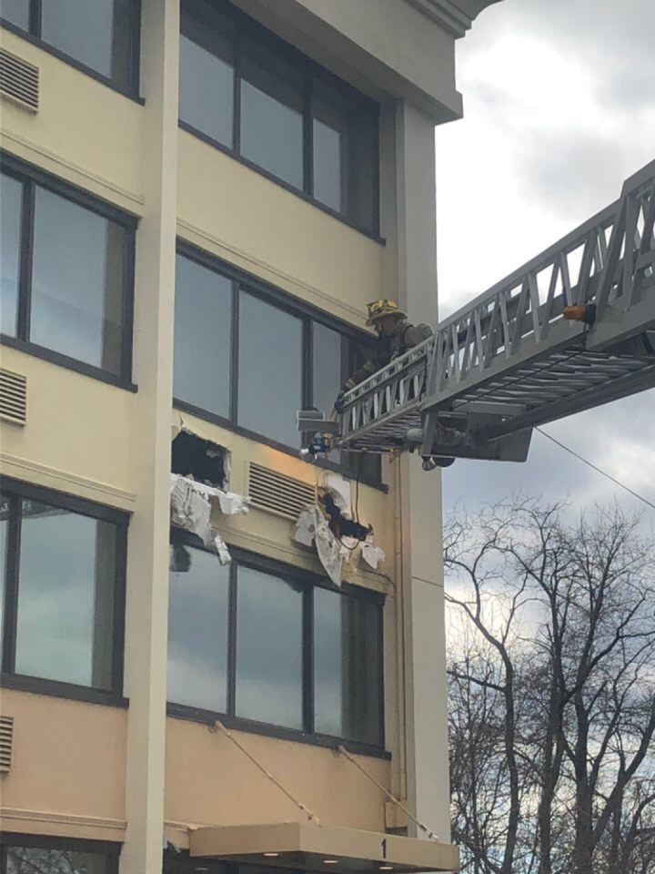Hotel Fire in the 4th District