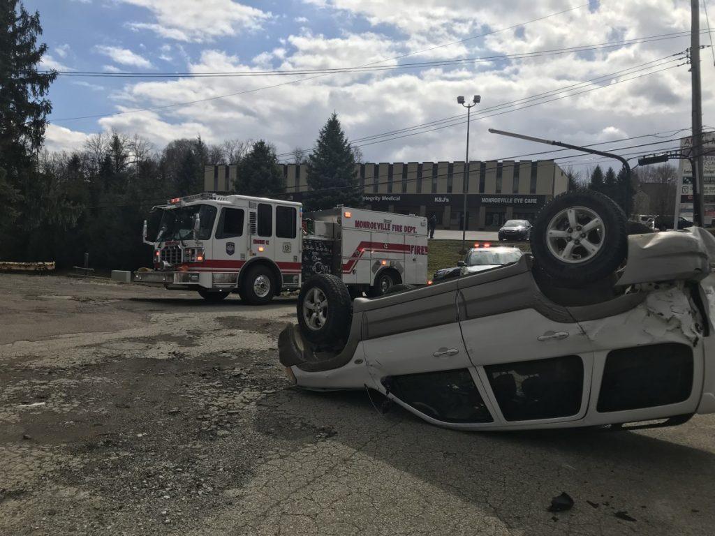 Rollover Crash on Monroeville Boulevard