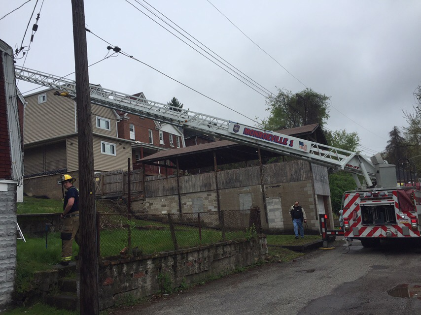 Quint assists North Braddock with Dwelling Fire